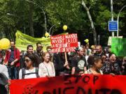 Manifestation contre Monsanto à Strasbourg                                                                          © Alexandra Esur