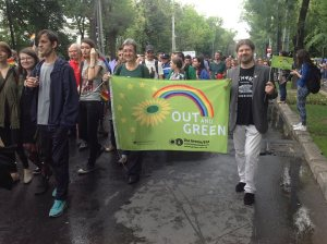 Gay Pride à Bucarest, june 2013