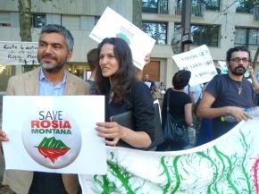 Sergio Coronado : «Je me réjouis de la mobilisation pour sauver Rosia Montana»