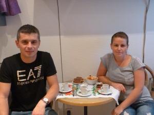 Raluca et Traian Costea viennent d'aménager à Paris 12e