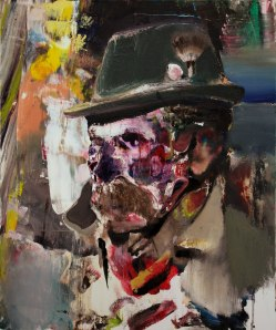 Adrian Ghenie Dr  Josef 2011 Oil on canvas 60 x 50cm Private collection Courtesy: TAJAN S.A.