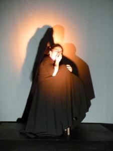 Codrina Pricopoaia est au Théâtre Les Déchargeurs tous les soirs jusqu'au 23 novembre