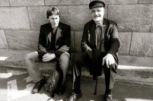 Vincent Liegey et Serge Latouche, professeur émérite d'économie et penseur de la décroissance