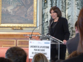 Paris accueille la plateforme pour une Europe des droits desfemmes