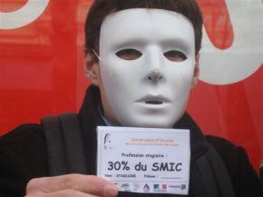 Derrière les masques : Génération précaire, le combat desstagiaires