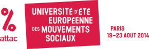 ESU 2014 : L'Europe a rendez-vous avec un autremonde