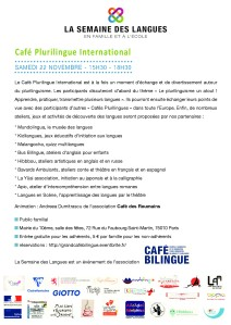 café plurilingue