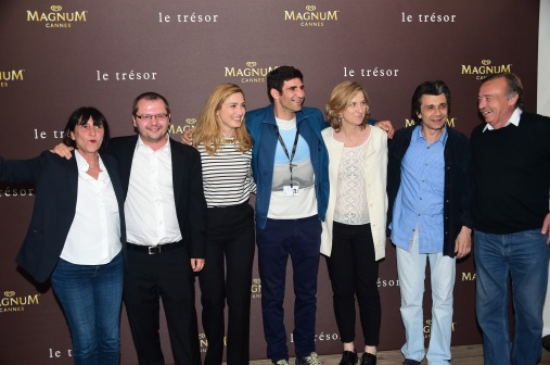 JulieGayet-et-lequipedufilm-Le-Tresor2